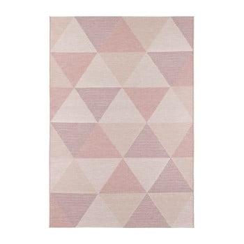 Covor adecvat și și pentru exterior Elle Decor Secret Sevres, 140 x 200 cm, roz