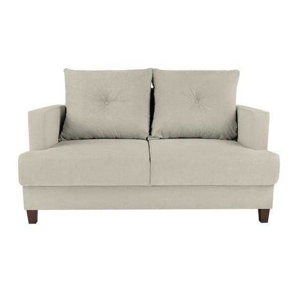 Lorenzo krémszínű kétszemélyes kanapé - Melart