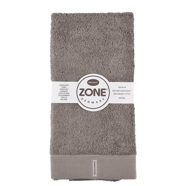Ručník Grey Organic, 100x50 cm
