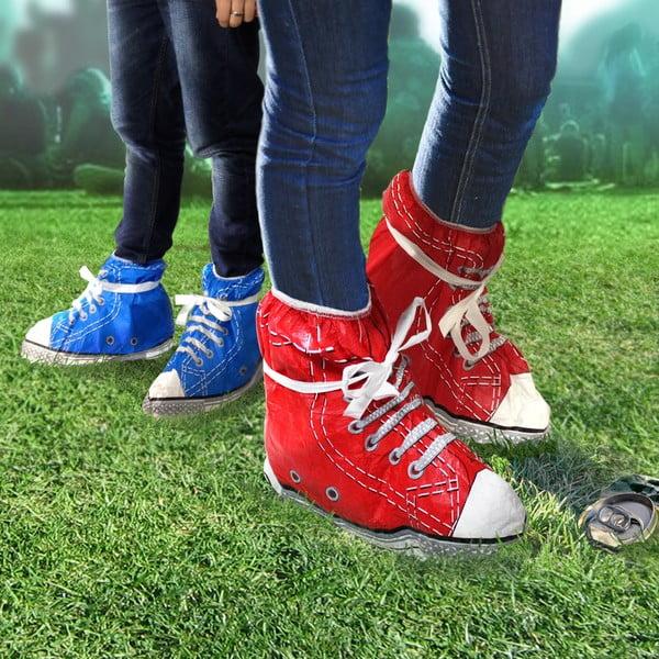 Pláštěnka na boty, modrá