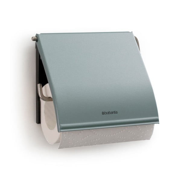 Mentolově modrý držák na toaletní papír Brabantia Spa
