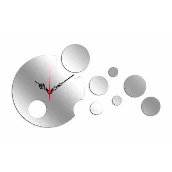 Nástěnné zrcadlové hodiny Circle Planet