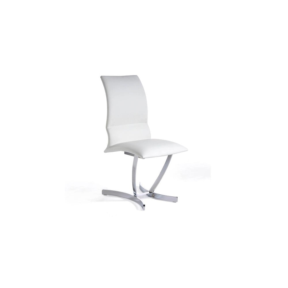 Bílá jídelní židle Ángel Cerdá Hugo