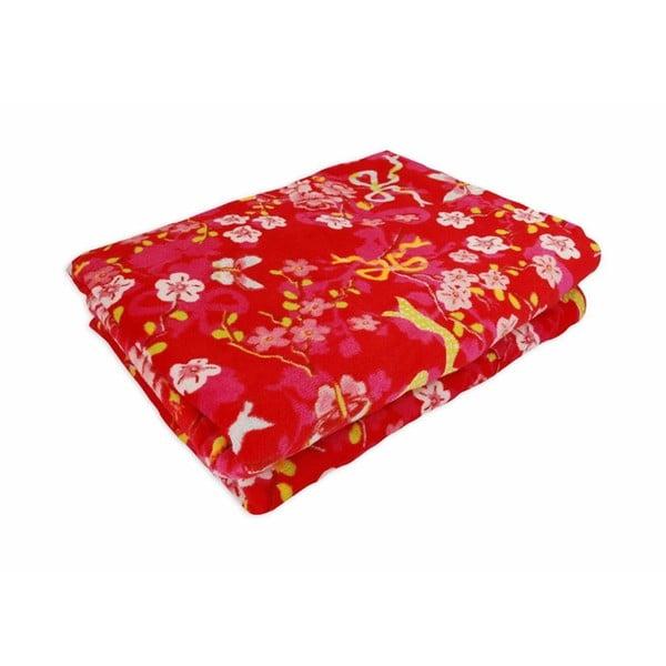 Ručník Chinese Rose Red, 50x100 cm
