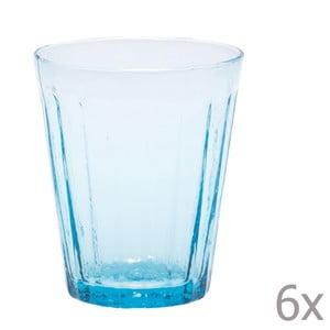 Sada 6 sklenic na vodu Lucca Sky, 450 ml