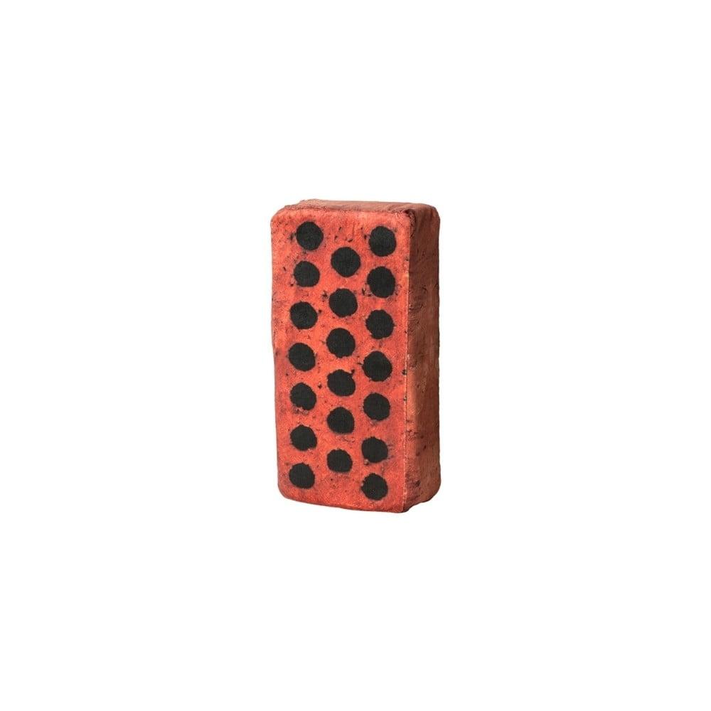 Polštář ve tvaru cihly Just Mustard Brick