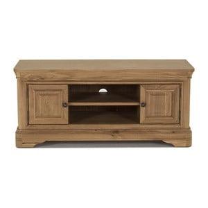 TV stolek z dubového dřeva Vida Living Carmen, délka 1,25m