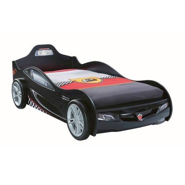 Coupe Carbed Black autó formájú fekete gyerekágy, 90 x 190 cm