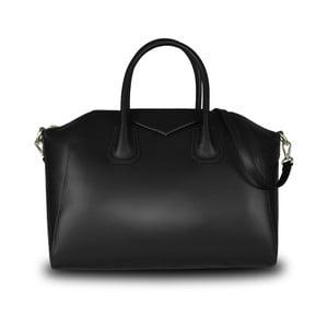 Černá kabelka z pravé kůže JOHN FISH Lamar