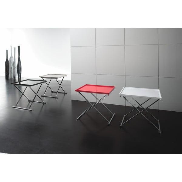 Černý odkládací stolek Design Twist Grivita