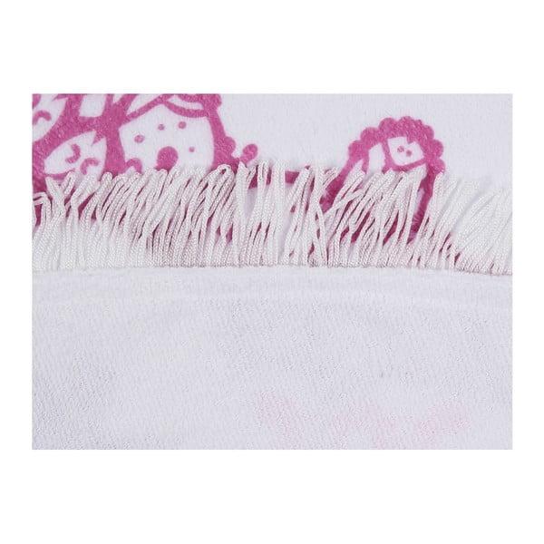 Barevná plážová osuška z bavlny Suri, ⌀ 150 cm