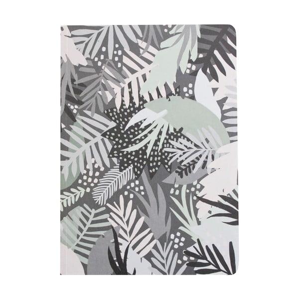 Šedý zápisník Michelle Carlslund Jungle