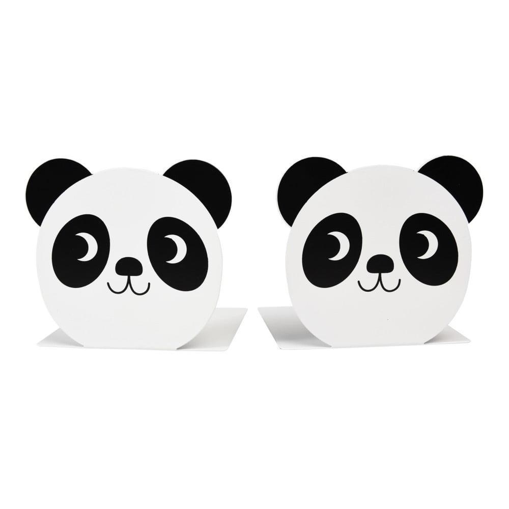Sada 2 zarážek do knihovny Rex London Miko the Panda