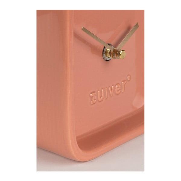 Růžové stolní hodiny Zuiver Cute