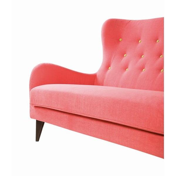 Pohovka pro dva Pola Mogani Pink
