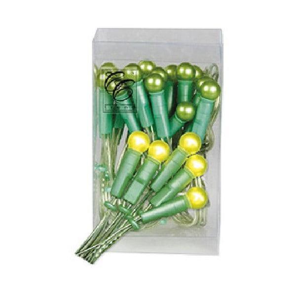 Svítící řetěz Best Season Pearl Lights Green