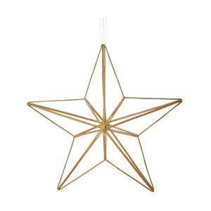 Vánoční závěsná ozdoba ze skla Butlers Hvězda