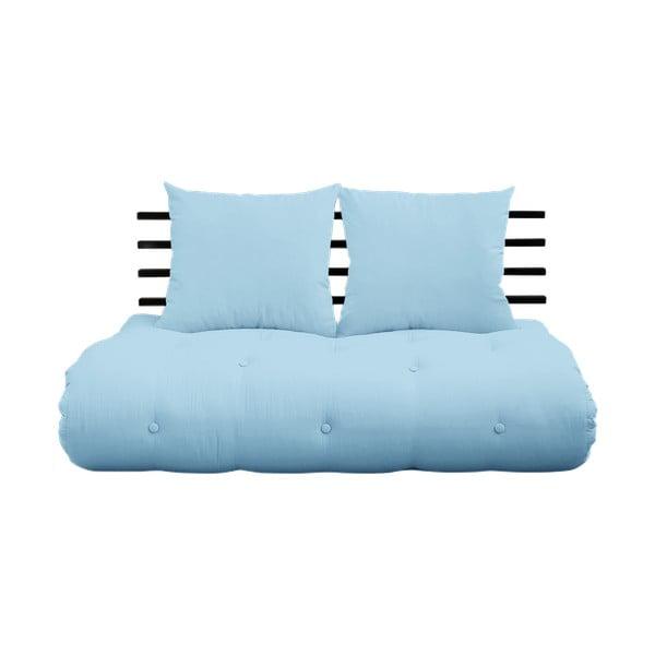 Rozkládací pohovka Karup Design Shin Sano Black/Light Blue