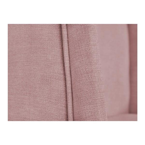 Růžové křeslo BSL Concept Franck