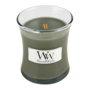 Lumânare parfumată WoodWick, aromă de copaci, 20 ore