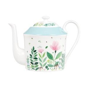 Konvička z kostního porcelánu se sítkem na sypaný čaj Ashdene Tilly's Garden, 600ml