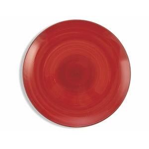 Sada 6 vínově červených talířů Villa d´Este Baita, ø 27 cm