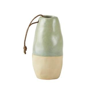 Keramický květináč s koženým poutkem Villa Collection