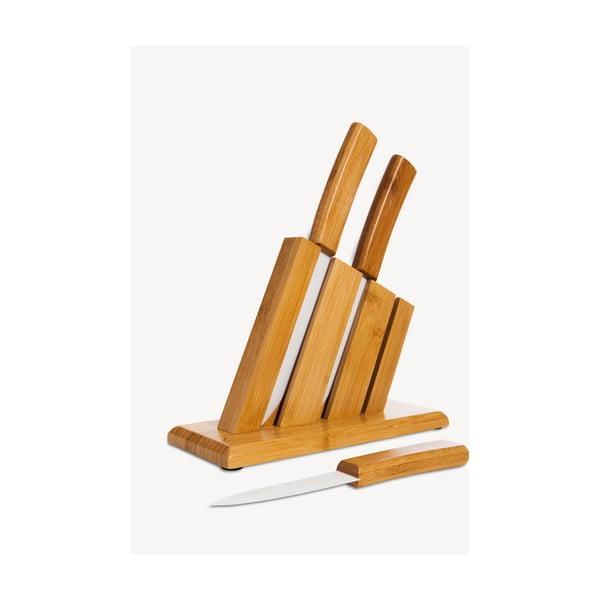 Set 3 cuțite cu suport Bambum Vallon