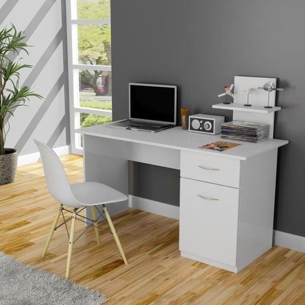 Pracovní stůl Lavanta White