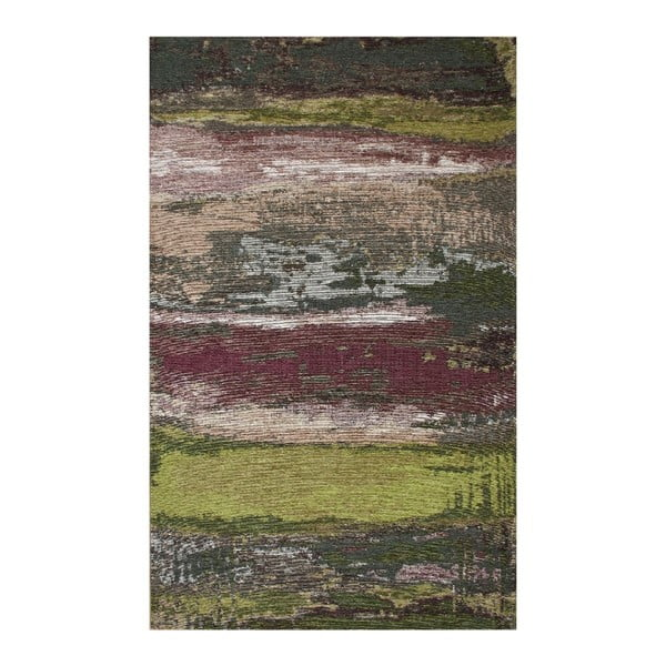 Koberec Eco Rugs Green Abstract, 135 x 200 cm