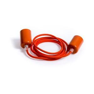 Stropní svítidlo Kolorowe Kable Loft Metal Line Carrot Feast