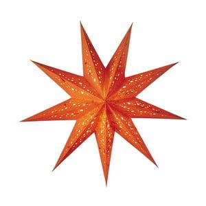 Dekorativní vánoční hvězda Baby Spumante Orange