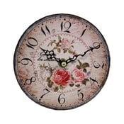Nástěnné hodiny Antic Line Roses
