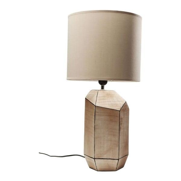Hnědá stolní lampa Kare Design Diamond