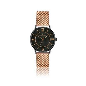 Unisex hodinky z nerezové oceli s páskem v barvě růžového zlata Frederic Graff Hypnotic