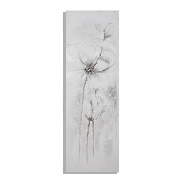 Ručne maľovaný obraz s motívom kvetu Mauro Ferretti Floral, 50×150 cm