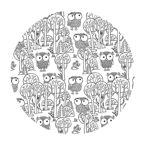 Kávový stolek A Lot Of Owls