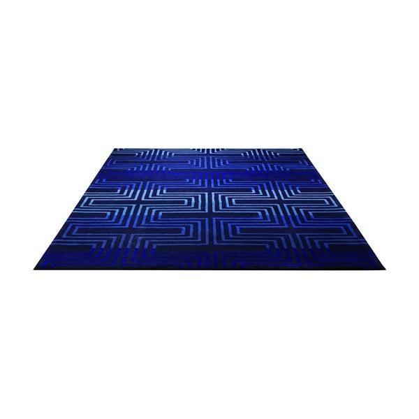Koberec Esprit Matrix Blue, 170x240 cm