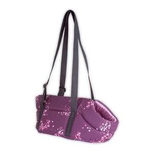 Cestovní psí taška Doggy Bedtime, fialová