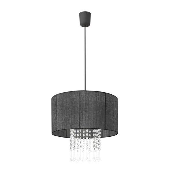 Stropní lampa Venecia, černá