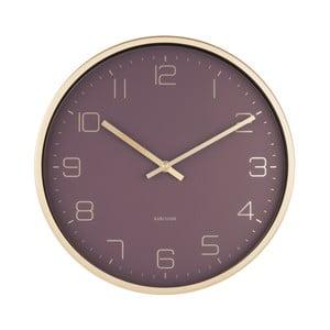 Ceas de perete Karlsson Elegance, violet
