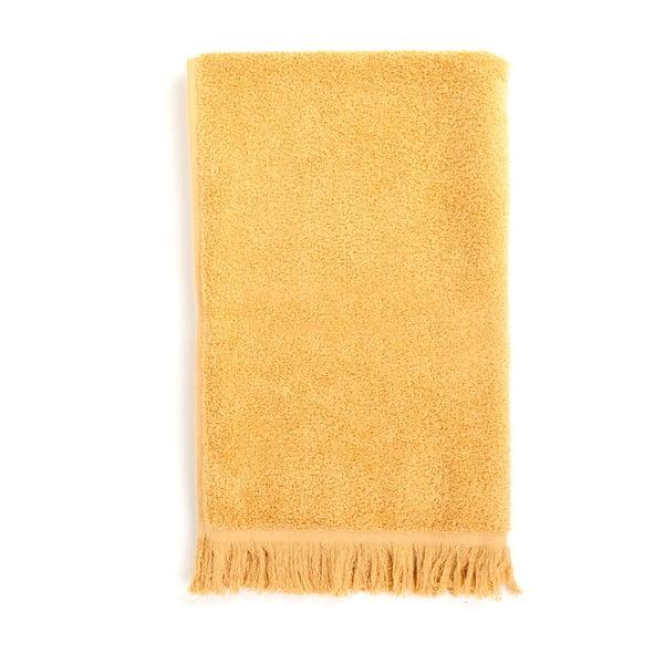 Sada 4 žlutých bavlněných ručníků Casa Di Bassi Sun, 50x90cm