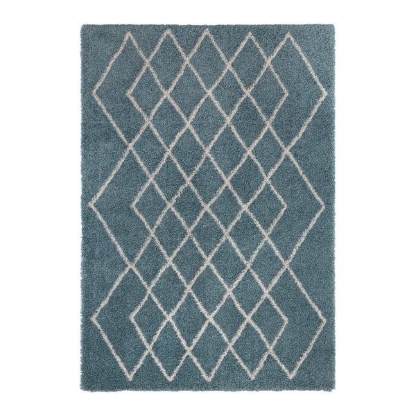 Covor Mint Rugs Allure, 80 x 150 cm, albastru - crem
