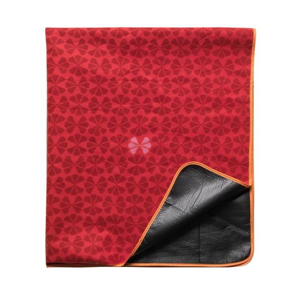 Pikniková deka, červená