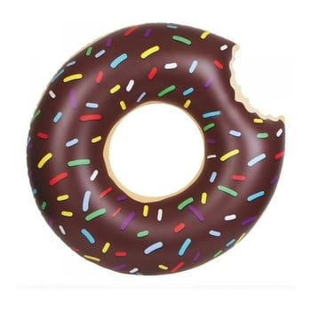 Colac gonflabil Gadgets House Donut, Ø 105 cm, maro poza