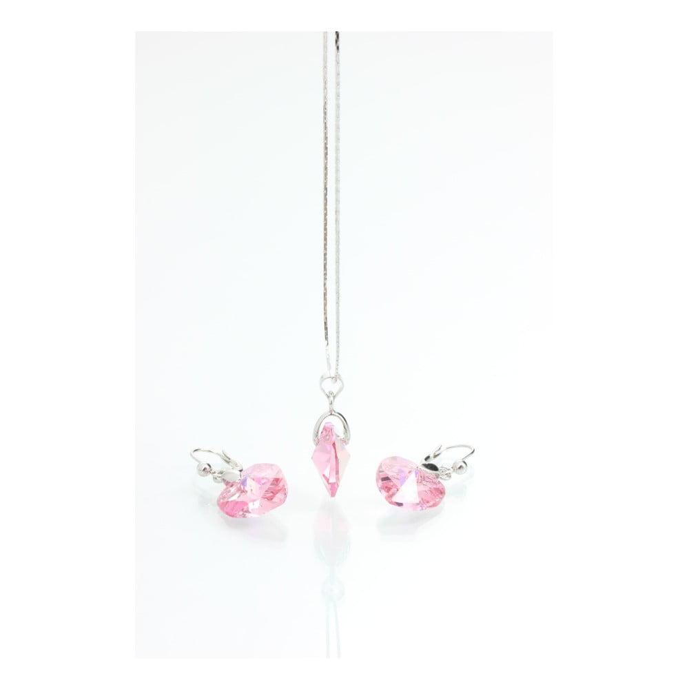 Set náhrdelníku a náušnic se Swarovski Elements Laura Bruni Ronnie