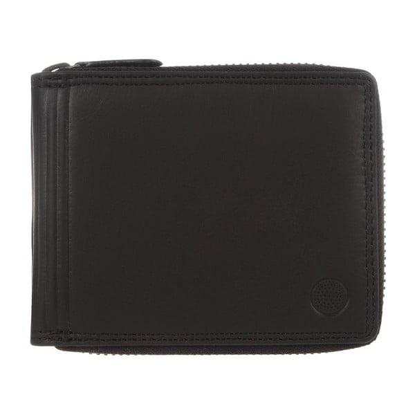Kožená peněženka Chief Black Veg