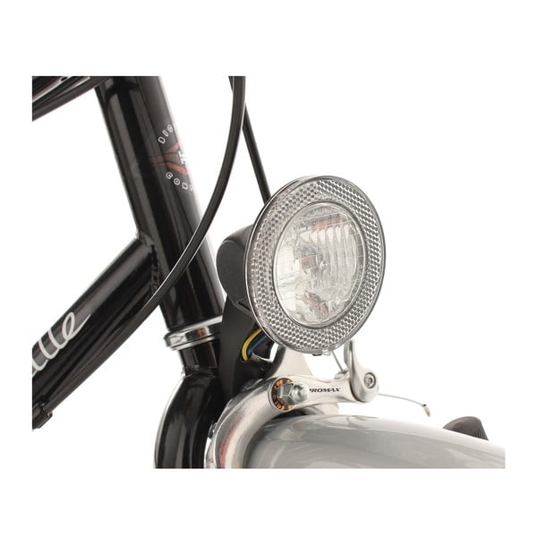 """Dámské kolo City Bike Marseille Black, 28"""""""