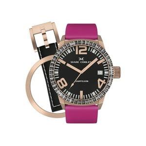 Dámské hodinky Marc Coblen s páskem a kroužkem navíc P34