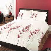 Povlečení Oriental Flower Red, 135x200 cm